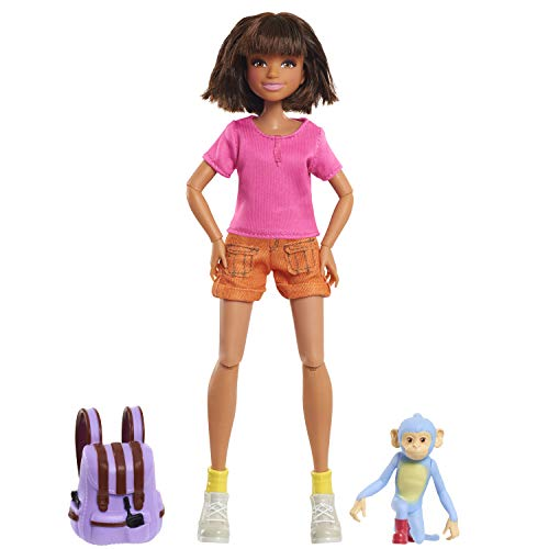 JP Other JPL57105 Flair Dora and The Lost City of Gold Puppe & Stiefel Set, Mehrfarbig