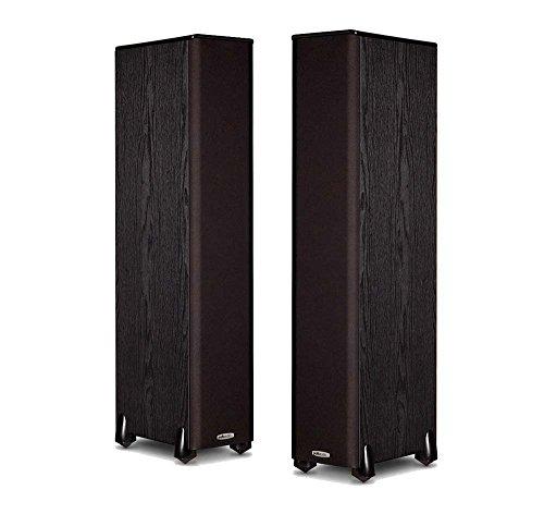 Polk Audio TSi300 Floorstanding Speaker (Pair, Black)