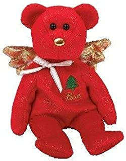 Ty Beanie Baby - Gift the Bear (Red Version) (Hallmark Gold Crown Exclusive) Christmas