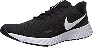 Nike Nike Revolution 5, Men's Running Running Shoes, Black/White-Anthracite, 8 UK (42.5 EU)