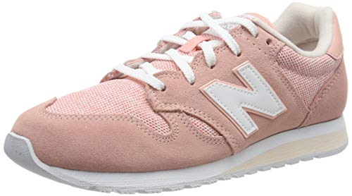 New Balance Wl520tlc, Baskets Femme, Blanc (White Peach/Pink Mist TLC), 38.5 EU