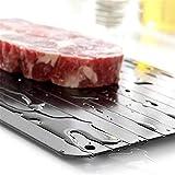Descongelación de la bandeja de la bandeja Herramienta de la cocina de la placa de descongelación rápida del tablero de la placa de la placa de cortar la bandeja de la bandeja de deshielo rápido conge