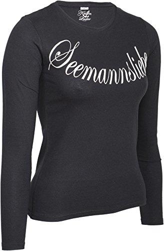 Küstenluder SEEMANNSLIEBE Logo Sailor LANGARM Shirt Rockabilly - 3