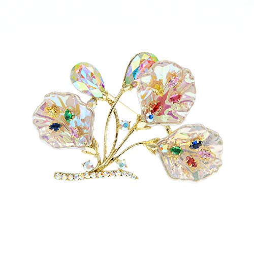 GLKHM Brooches & Pins Fashion Shell Broochesd Women Leaf Pin Accessories