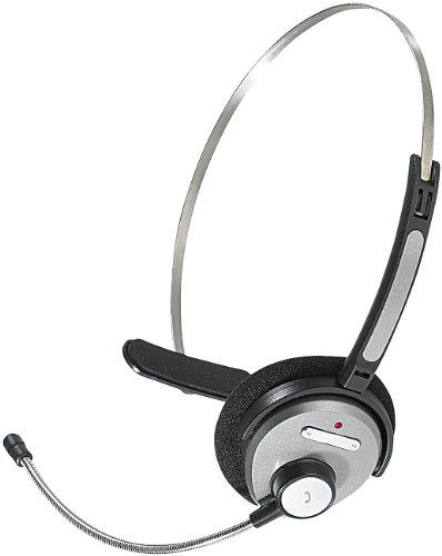 Callstel Schwanenhalsmikrofon: Headset mit Bluetooth & Schwanenhals-Mikrofon (Kopfhörer mit Mikrofon, Bluetooth)