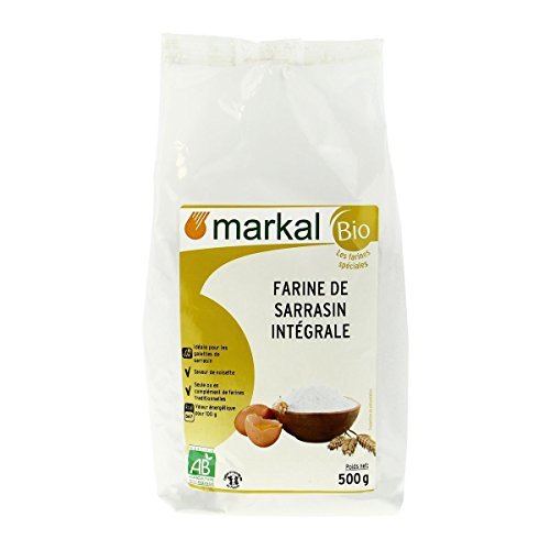 Markal - Farine De Sarrasin Intégrale 500G Bio - Lot De 4 - Vendu Par Lot - Livraison Gratuite en France