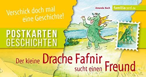 Der kleine Drache Fafnir sucht einen Freund: Postkartengeschichte
