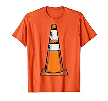 Traffic Cone Lazy Easy Funny Last Minute Halloween Costume T-Shirt