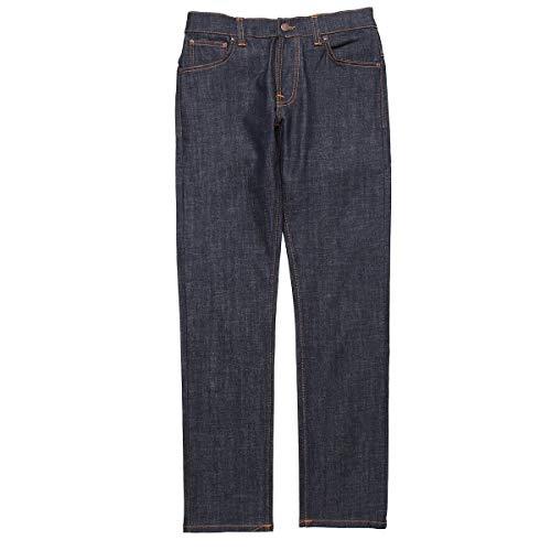 (ヌーディージーンズ) nudie jeans co ストレッチジーンズ 28サイズ THIN FINN シンフィン レングス32 [並...