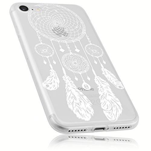 mumbi Hülle kompatibel mit iPhone SE 2 2020/7 / 8 Handy Case Handyhülle mit Motiv Traumfänger, transparent
