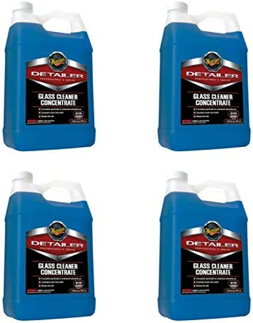 Meguiar's Glass Cleaner Concentrate – Car Window Cleaner for a Crystal Clear View – D12001, 1 gal