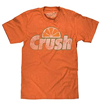 Tee Luv Orange Crush Soda Logo T-Shirt  S