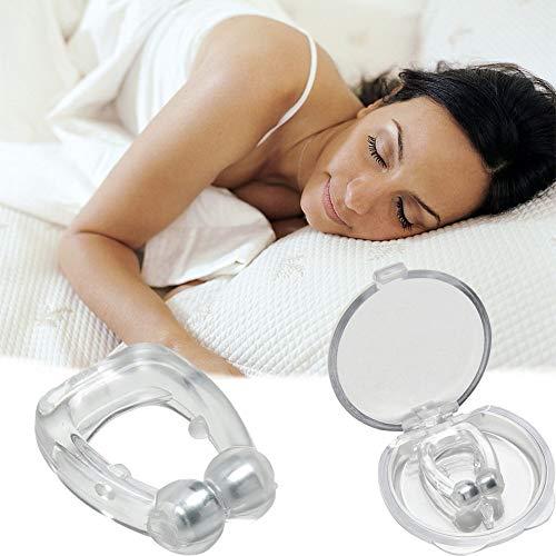 ZYXBJ Anti-Schnarch-Gerät Schnarchstopfen Verbessert die Atmung für einen bequemeren Schlaf
