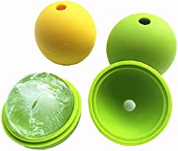 BALERINE Molds Ice-Ball-Maker Ice-Hockey-Molds Sphere Silicone Round-Ball Small Cocktail