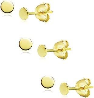 Best apple earrings gold Reviews