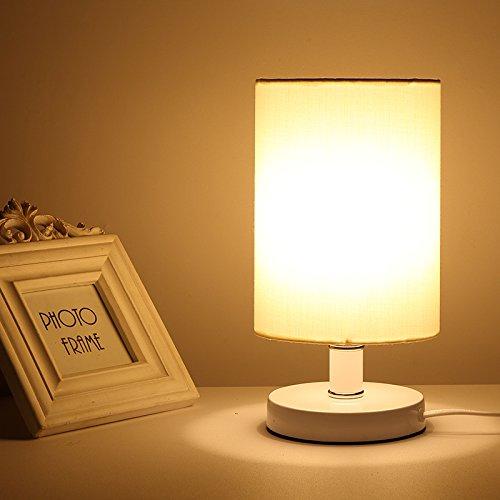 bbslt regali di noëlchaud dimmerabile stile moderno lampada da tavolo, lampada da comodino camera