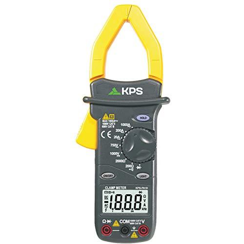 KPS-PA10 Pinza amperimetrica digital Tension DC/AC, Corriente AC, y resistencia