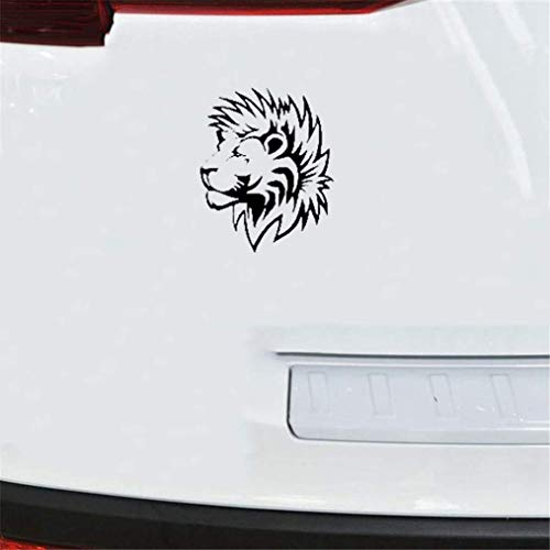 Car Decal Car Sticker 10x13cm Lion with Furry Mane Stickers Car Window Window Decal Art Car Stikcers