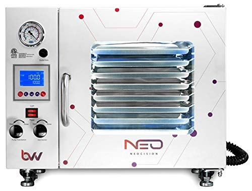 0.9 Cubic Foot BVV Neocision Certified Lab Vacuum Oven, 5 Wall Heating, LED's, 8 Shelves Standard