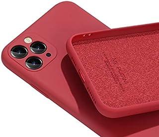 PANDA BABY iPhone 11/11 Pro/11 Pro Maxシリコンケース レンズの全面保護 (11 Pro, スイカレッド)