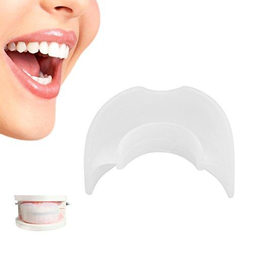 Dents Gouttière Dentaires Orthodontiques Flexibles à Double Couche Protecteur Correction Anti-Bruxisme