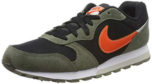 Nike Herren MD Runner 2 ES1 Traillaufschuhe, Mehrfarbig (Black/Team Orange-Cargo Khaki-Light Bone 003), 40 EU