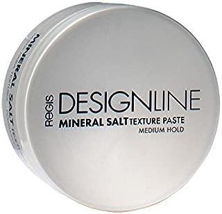 Mineral Salt Texture Paste, 2 oz - Regis DESIGNLINE - Ultimate Multi-Tasking Styling Paste with Semi-Matte Finish for Damp, Dry, Long, or Short Hair (2 oz)