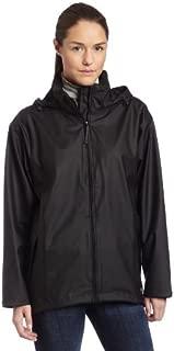 Helly Hansen Women's Voss Windproof Waterproof Rain Coat Jacket with Stowable Hood