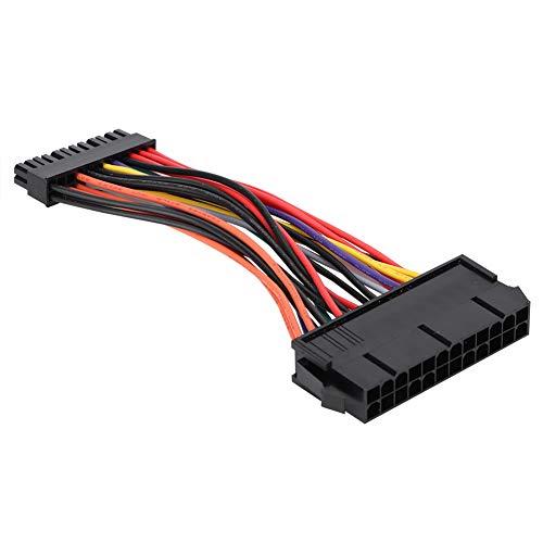 Cable de alimentación de 24 Pines Cable de 24 Pines a 24 Pines Cable Adaptador de Fuente de alimentación Estable Cable ATX para PC para computadora de Escritorio