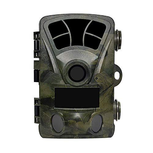 HYLH Uuml;berwachungskamera-Jagd-Kamera 16MP 1080P, 2.4 '' TFT LED-Anzeige 120 deg; PIR-Sensor-Objektiv-wasserbestauml;ndige Nachtsicht fuuml;r Spiel u. Jagd u. Hauptsicherheit