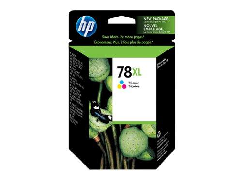 HP 78XL CMY Tintenpatrone für Drucker (Cyan, Magenta, Gelb, Hoch, 38ml, 10-70prozent, -15-35°C, -40-60°C)