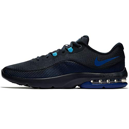 Nike Men's Air Max Advantage 2 Running Shoe Dark Obsidian/Gym Blue/Blue Hero Size 9 M US