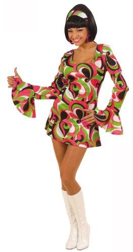Déguisement disco vert femme Taille M