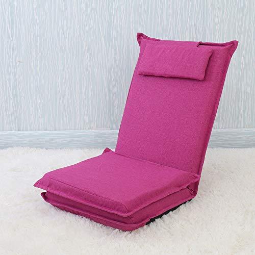 AiHerb.LO JL HX Long Lit dans Le Dos Paresseux Canapé Tatami Lit Japonais Pliant Simple Canapé Arrière Fenêtre Chaise A+ (Couleur : G)