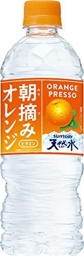 サントリー 朝摘みオレンジ&南アルプスの天然水(冷凍兼用) 540ml×24本