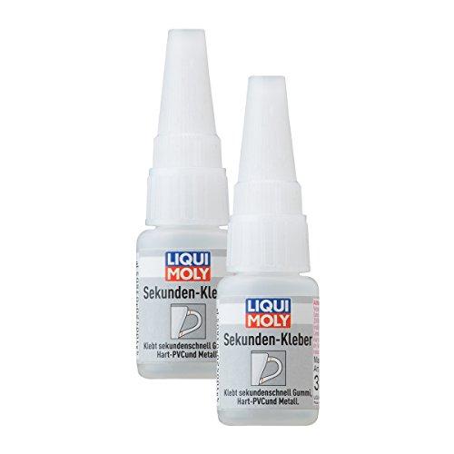 Liqui Moly 2X 3805 seconden-lijm Super Glue Instant 10 g