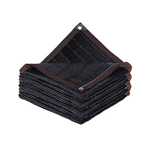 CXLL 95% Malla De Sombreo Negro Toldos para Patios Exteriores 2m×3m, 3m×3m, 4m×6m, Transpirable Durabilidad Toldos Vela Rectangulares para Jardín, Patio, Exteriores, Pergola Decking (Size : 2m×7m)