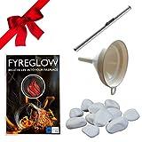Accessori per camino bioetanolo: Fyreglow, imbuto, accendino, pietre decorative