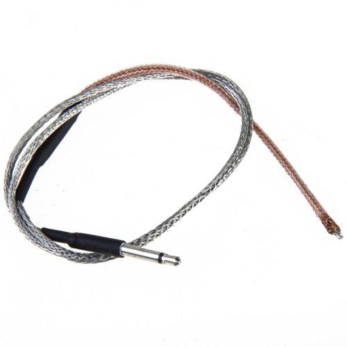 lahomia Pieza de Micrófono de Cable Plegable Piezoeléctrico para Accesorio de Guitarra Electroacústica