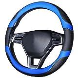 Cubrevolantes para coches (Negro-azul 2)