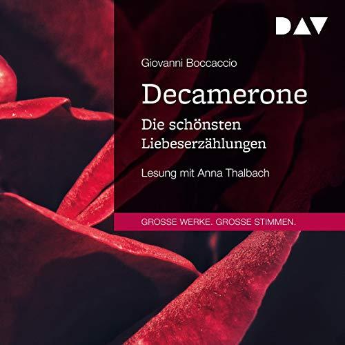 Page de couverture de Decamerone. Die schönsten Liebeserzählungen