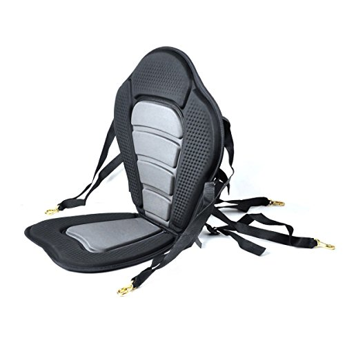 NKTM Kayak Boat Padded Seat with Backrest Portable...