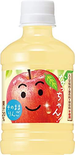 なっちゃん りんご 280ml×24本 PET