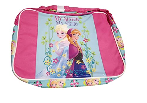 Disney Frozen Elsa & Anna Messenger Bag Courier Shoulder Flight Bag