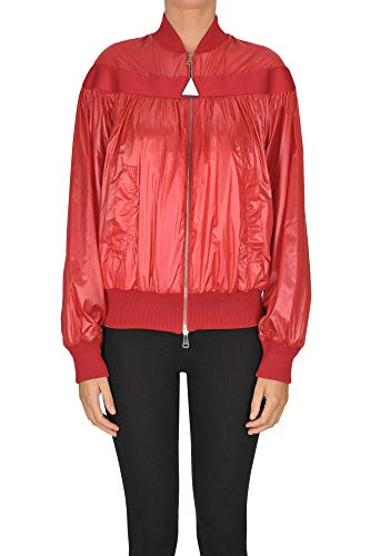 Luxury Fashion | Moncler Dames MCGLCSG0000A7001E Rood Nylon Outerwear Jassen | Seizoen Outlet