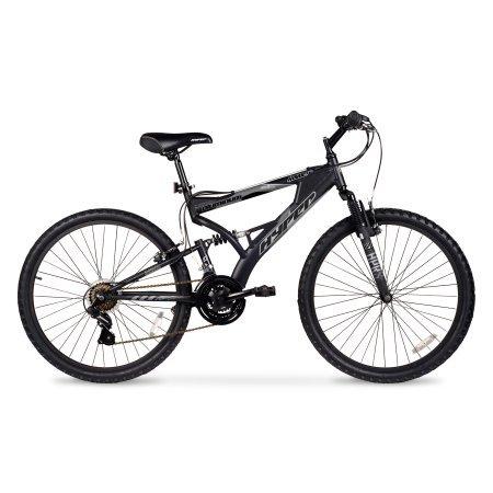 26' Hyper Havoc Full Suspension Men's Mountain Bike, WMA-102605, Black