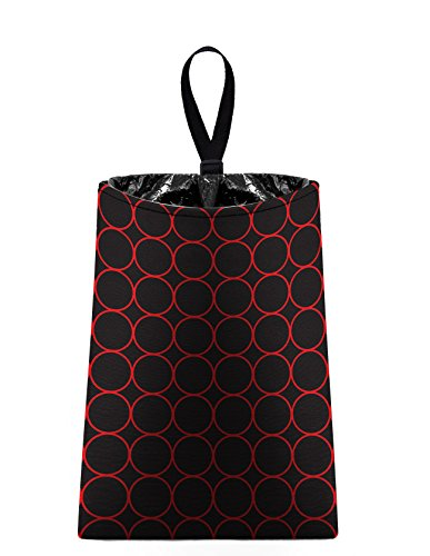 The Mod Mobile Auto Trash (Rings - red and black) by car trash bag litter bag garbage can for your automobile