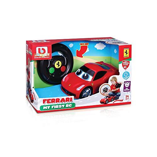 Bauer Spielwaren 16-91003 Ferrari 458 Italia - My First RC Spielzeugauto mit Fernsteuerung, Rot