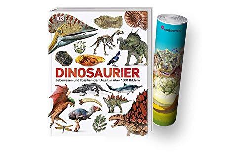 DK Verlag Dinosaurier: Lebewesen und Fossilien der Urzeit in über 1000 Bildern (Gebundenes Buch) + Dino-Poster von Collectix