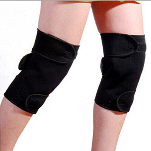 Hangang Autocalentamiento Firma Turmalina Terapia magnética Rodilleras Protector Protector Puede uso ajustable para artritis Dolor Cuidado de la salud